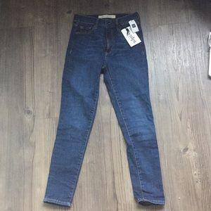 Gap true skinny super high rise jeans NWT